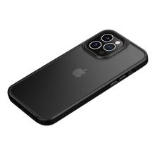 Kryt MOCOLO pro Apple iPhone 13 - plastový / gumový - průsvitný černý