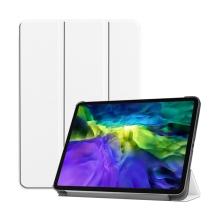 """Pouzdro pro Apple iPad Pro 11"""" (2018) / 11"""" (2020) - stojánek + funkce chytrého uspání - bílé"""