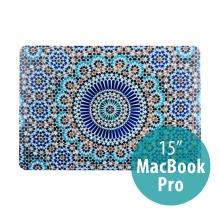 Obal / Kryt pro Apple MacBook Pro 15 2016 / 2017 - plastový - kaleidoskop