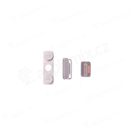 Sada postranních tlačítek / tlačítka pro Apple iPhone 4 (Power + Volume + Mute) - kvalita A+