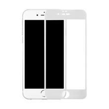 Tvrzené sklo (Tempered Glass) BENKS pro Apple iPhone 6 / 6S - přední - anti-blue-ray - bílý rámeček - 0,3mm
