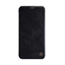 Pouzdro NILLKIN Qin pro Apple iPhone 11 Pro Max - umělá kůže - černé