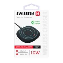 Bezdrátová nabíječka / nabíjecí podložka SWISSTEN Qi - 10W