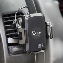 Držák do auta univerzální 360° otočný / bezdrátová nabíječka Qi