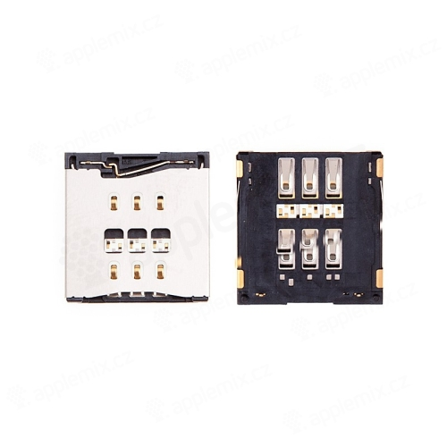 Slot / čtečka SIM karty pro Apple iPhone 5S / 5C - kvalita A+