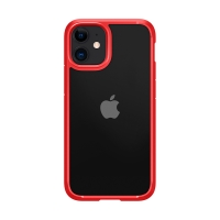 Kryt SPIGEN Ultra hybrid pro Apple iPhone 12 mini - plastový / gumový - červený
