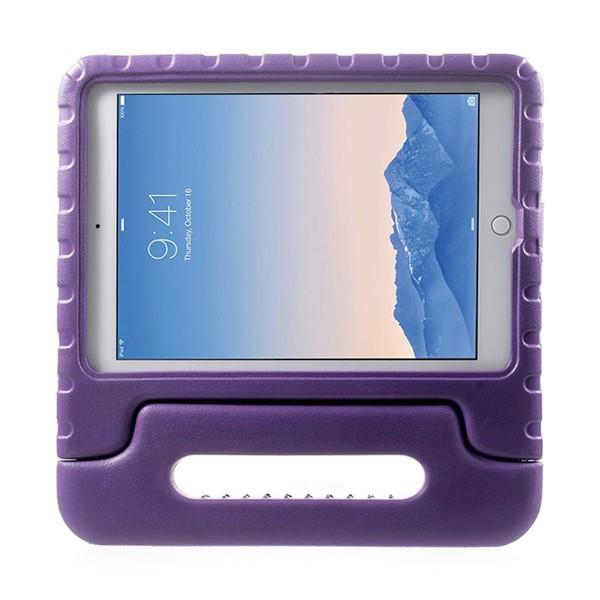 Ochranné pěnové pouzdro pro děti na Apple iPad Air 2 s rukojetí / stojánkem - fialové