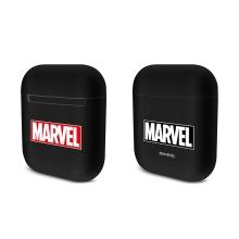 Pouzdro / obal MARVEL pro Apple AirPods - plastové - černé