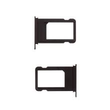 Rámeček / šuplík na Nano SIM pro Apple iPhone 7 - černý (Black)