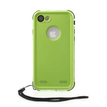 Pouzdro RedPepper Dot+ pro Apple iPhone 7 / 8 / SE (2020) - voděodolné - plastové - černé / zelené