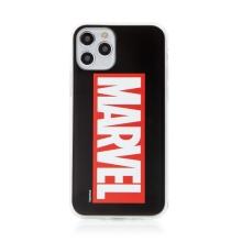Kryt MARVEL pro Apple iPhone 11 Pro Max - gumový - černý / červený