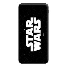 Externí baterie / power bank STAR WARS - 10000 mAh - 2x USB - černá