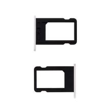 Rámeček / šuplík na Nano SIM pro Apple iPhone 5C - bílý - kvalita A+