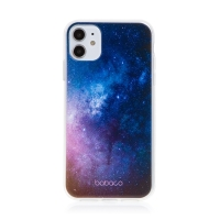 Kryt BABACO pro Apple iPhone 11 - gumový - galaxie
