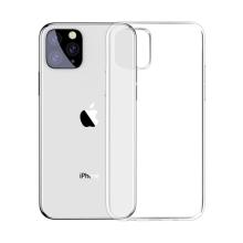 Kryt BASEUS pro Apple iPhone 11 Pro Max - gumový - průhledný