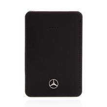 Externí baterie / power bank Mercedes 5000mAh s 2x USB (1A, 2.1A) - černá