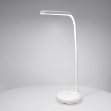 Lampička REMAX - ohebné rameno - kapacita baterie 1200 mAh - plastová - bílá