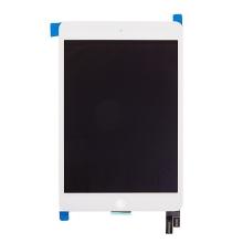 Náhradní LCD panel + přední dotykové sklo (touch screen) pro Apple iPad mini 4 - bílý - kvalita A+