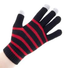 Rukavice pro ovládání dotykových zařízení - černo-červené