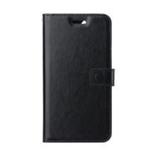 Pouzdro pro Apple iPhone 12 / 12 Pro - stojánek - umělá kůže - černé