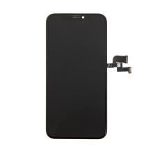OLED panel + dotykové sklo (touch screen digitizér) pro Apple iPhone Xs - černý - kvalita A+