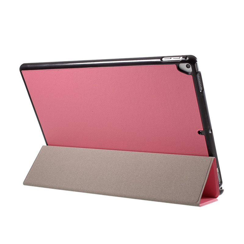 Pouzdro / kryt pro Apple iPad Pro 12,9 - integrovaný stojánek - umělá kůže - růžové