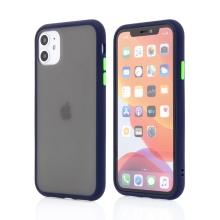 Kryt pro Apple iPhone 11 - guma / plast - barevná tlačítka