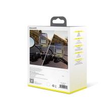 Držák na kolo / motorku BASEUS pro Apple iPhone - univerzální - pevný - plast / kov - černý / stříbrný