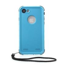 Pouzdro RedPepper Dot+ pro Apple iPhone 7 / 8 - voděodolné - plastové - černé / modré