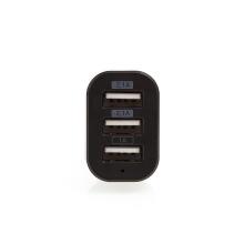 Nabíječka do auta SWISSTEN s 3 USB porty (5.2A) - černá