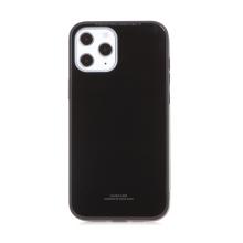 Kryt FORCELL Glass pro Apple iPhone 12 Pro Max - gumový / skleněný
