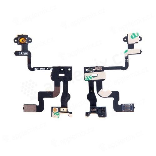 Flex kabel + světelný senzor + power mikrospínač pro Apple iPhone 4S - kvalita A+