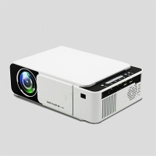 Mini LED projektor T5 - WiFi / HDMI / USB / SD - bílý