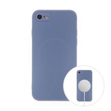 Kryt pro Apple iPhone 7 / 8 / SE (2020) - MagSafe magnety - silikonový - levandulově modrý