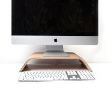 Elegantní dřevěný podstavec / stojan SAMDI pro Apple iMac
