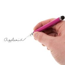 2v1 dotykové pero / stylus + propiska - růžové