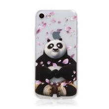 Kryt Kung Fu Panda pro Apple iPhone 7 / 8 / SE (2020) - gumový - Po a okvětní lístky