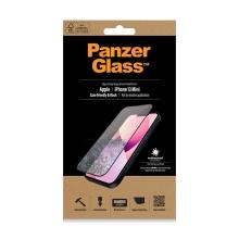 Tvrzené sklo (Tempered Glass) PANZERGLASS pro Apple iPhone 13 mini - černý rámeček - antibakteriální - 0,4mm