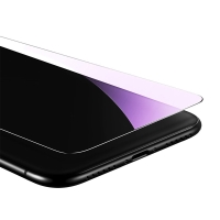 Tvrzené sklo (Tempered Glass) BASEUS pro Apple iPhone X - na přední část - 2,5D hrana - anti-blue-ray - 0,3mm