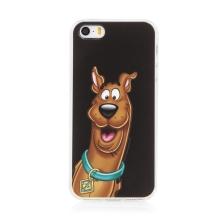 Kryt Scooby Doo pro Apple iPhone 5 / 5S / SE - gumový - černý