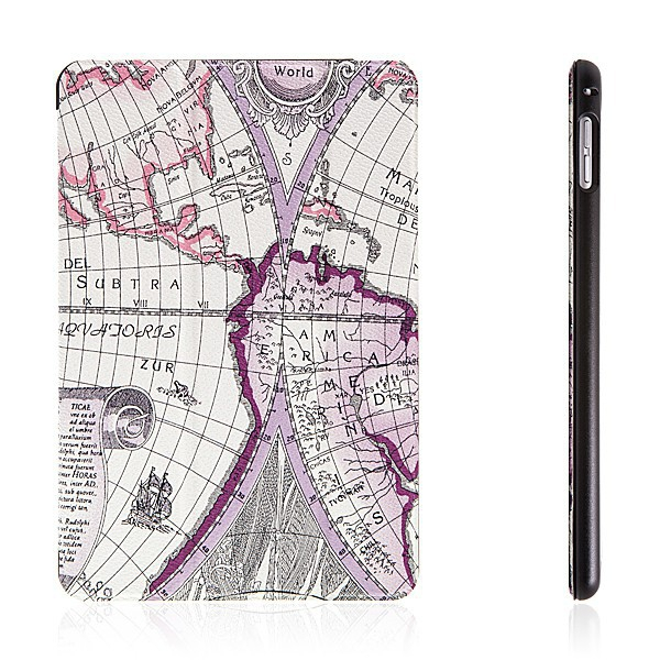 Pouzdro / kryt pro Apple iPad mini 4 - integrovaný stojánek - mapa 2