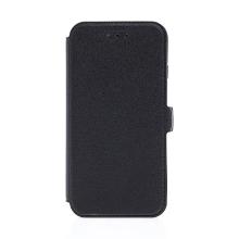 Pouzdro pro Apple iPhone 7 / 8 - stojánek + prostor pro platební karty - černé