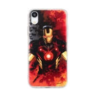 Kryt MARVEL pro Apple iPhone Xr - Iron Man - gumový
