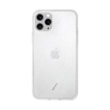 Kryt NATIVE UNION pro Apple iPhone 11 Pro Max - bílý / průhledný