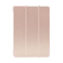 """Pouzdro / kryt pro Apple iPad 9,7 (2017-2018) / Air 1 / 2 / Pro 9,7"""" - funkce chytrého uspání - gumové - zlaté"""