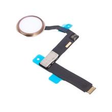 Obvod tlačítka Home Button + připojovací flex + tlačítko Home Button pro Apple iPad Pro 9,7 - bílé / Rose Gold - kvalita A+