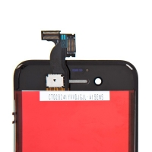 Náhradní LCD panel včetně dotykového skla (digitizéru) pro Apple iPhone 4S - černý