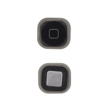 Tlačítko Home Button se silikonovou podložkou pro Apple iPod touch 5.gen. / 6.gen. - černé - kvalita A+