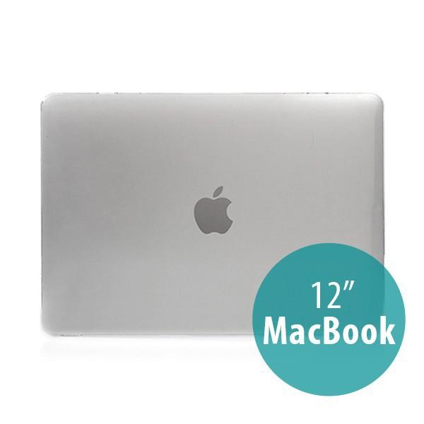 Tenký plastový obal / kryt pro Apple MacBook 12 Retina (rok 2015) - lesklý - průhledný