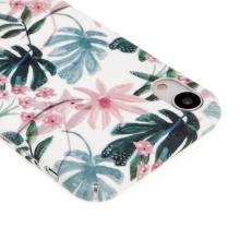 Kryt pro Apple iPhone Xr - plastový - květy a listy
